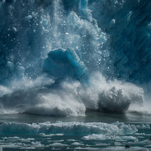 Alaska, ice, seals, fiord, crash, ice, falling, calving, glacier, blue, cold, southeast, melting, global warming