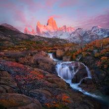 Argentina, Patagonia, Autumn, Fitz Roy, dawn