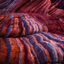 sandstone, curves, colorado plateau, arizona