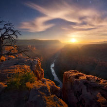 Moonlight, Grand Canyon