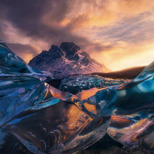iceberg, patagonia, lago grey, unique, marc adamus