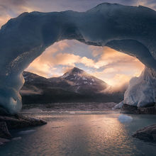 Ice, Arch, Glacier, Unique, Coast Mountains, British Columbia, Alaska, Mountains, Frozen