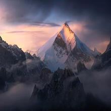 drefrikal,karakorum,pakistan,mountain,peak,summit