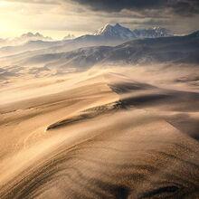 windy, dunes, colorado, storm