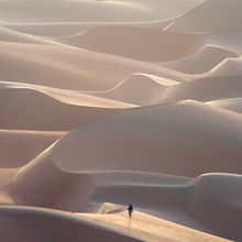United Arab Emirates, Empty Quarter, dune