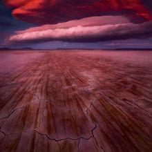 Surreal, Otherworldly, Awesome, Lenticular, sunset, oregon, alvord, desert, storm