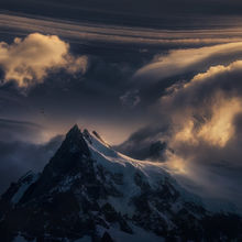 mountain, condor, storm, freedom, winds, alone