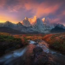 Makalu, Himalaya, Tibet, Kharta, Autumn, Fall, 8000m