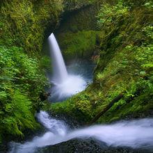 cascade, canyon, metlako