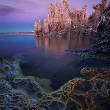 original, mineral, california, mono lake, twilight