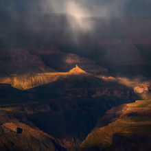 South Rim, Grand Canyon, Snow, Unique, Dramatic, Arizona