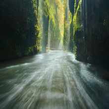 Oneonta, Oregon, Gorge, Columbia, Raft, Flood, Wet, Waterfall, cascading