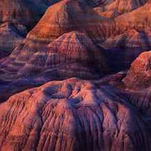 Arizona, Painted Desert, sunset