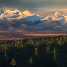 richardson, Yukon, mountains, fall, autumn