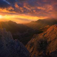 Death Valley, sunrise, augereberry