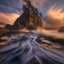 Olympic Coast, Washington, Wave