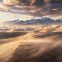sandstorm, great sand dunes, dunes, wind, blowing, storm, Colorado, national park