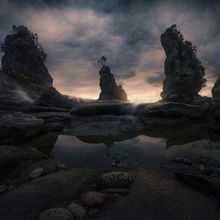 New Zealand, coast