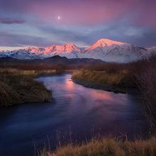 Sunrise, beautiful, owens valley, california