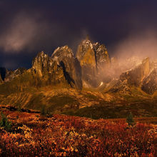 Ogilvie Mountains, Autumn, Yukon, Canada