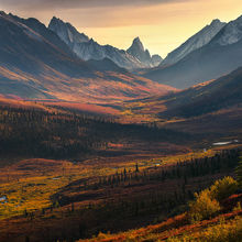 autumn, tombstone, Yukon, Klondike, autumn