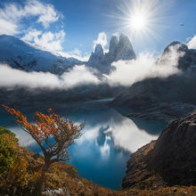 Chile, fiords, mountains, wilderness