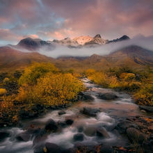 Autumn, Steens, Mountains, Alvord, Creek, Sunrise