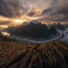 Coast Mountains, Alaska, Glacier