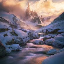 Cerro Torre Patagonia Argentina Winter