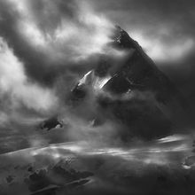 mountains, dramatic, storm, glacier, peaks, summit, british columbia, alaska