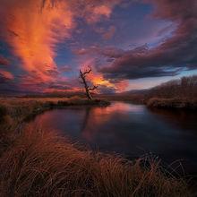 Lenticular, Owens River, California