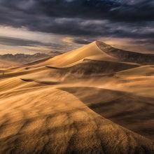 Mojave, Desert, Death Valley Dunes Wind