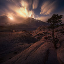 Sierra, Buttermilk, Sunset