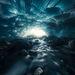 ice cave frozen subterranean Alaska