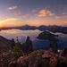 Crater Lake Pano - Crater Lake, Oregon