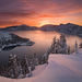 Crater Lake, Winter (2005)