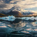 icebergs, fiords, autumn, Chile, Patagonia