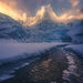Alaska, Winter, Mountains, Coast Mountains, Glacial, Ice, Frozen, Cold