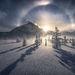 below zero, icebow, ice, sundog, frigid, minus forty, Canadian rockies, jasper