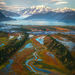 Yakutat, fall, autumn, bay, mountains