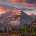 mount tom, eastern sierra, california, morning, light