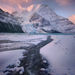 stunning, atmosphere, mount robson, canadian rockies, peak, sunrise