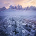 Tombstone, Ogilvie, Yukon, Snow, blowing, ice, lake, mount monolith