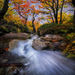 Argentina, Patagonia, Autumn, cascade