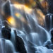 rainbows, beautiful, waterfall, mount hood, oregon, wilderness