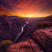 Toroweep, Grand Canyon, Arizona, Sunset, Colorful