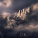 mount Whitney, Sierra, clearing, storm, winter, mountains, peaks, sharp, jagged, California