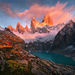 Fitz Roy, Argentina, Sunrise, Unique, Fall, Autumn