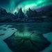 Yukon aurora ice