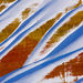 Oregon, Painted Hills, Colorful, Snow